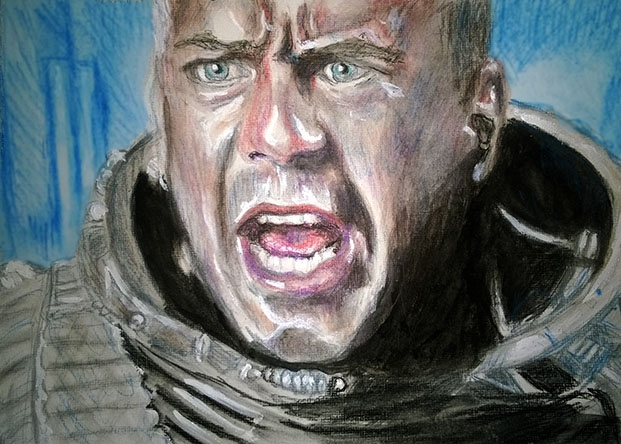 Bruce Willis par Toyscape